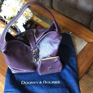Dooney & Bourke Handbag and coin wallet set